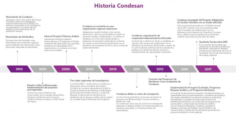 timelineCONDESAN1