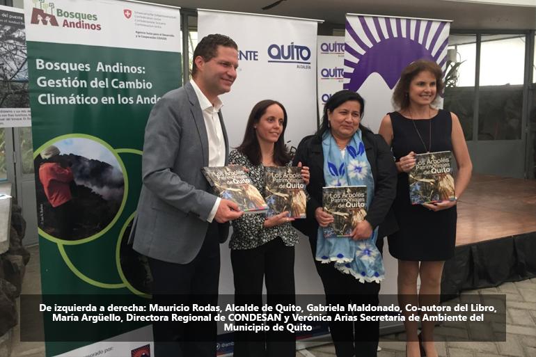 """Alcalde Mauricio Rodas lanza la segunda edición de """"Los Árboles Patrimoniales de Quito"""