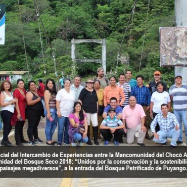 Intercambio de Experiencias entre las Mancomunidades Bosque Seco y Chocó Andino inicia una relación de colaboración entre ambas plataformas de gobernanza