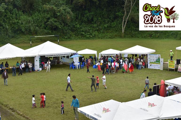 Un millar de personas conocen más sobre sostenibilidad en el Noroccidente de Pichincha gracias al Chocó Fest