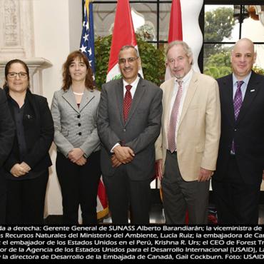 Estados Unidos y Canadá apoyan al Perú con US$ 27.5 millones para fortalecer seguridad hídrica y gestión de recursos naturales