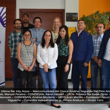 CONDESAN realiza en Ecuador el taller de priorización de metas de los ODS más relevantes para contextos de montaña