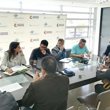 Se realizó primera sesión del Comité Nacional del Proyecto AICCA – Colombia