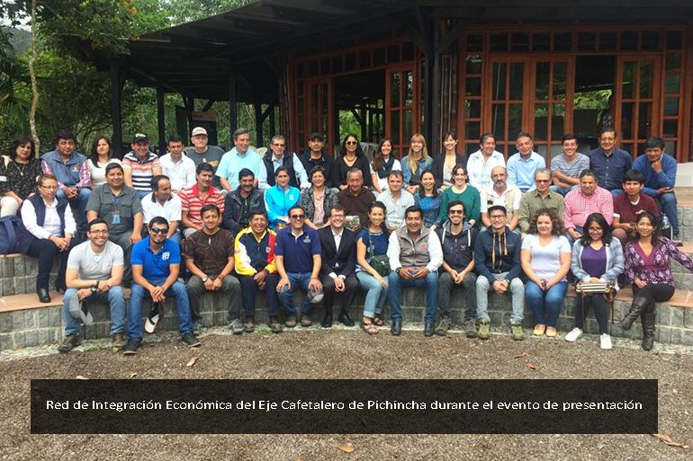 Una red para fortalecer la cadena de valor del café en el Noroccidente de Pichincha  como alternativa de manejo sostenible de la tierra