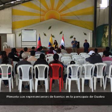 El Plan Especial para la Mancomunidad del Chocó Andino se construye desde cada parroquia