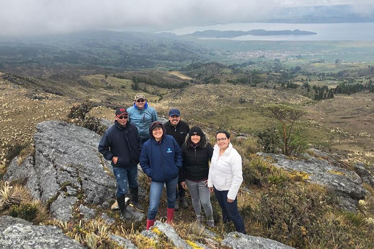Proyecto AICCA fue presentado en la Corporación Autónoma de Boyacá – Corpoboyacá, Colombia
