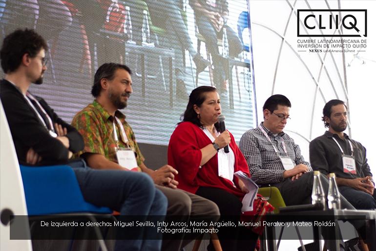 Se visibilizan oportunidades y desafíos de los Bosques Andinos en la Cumbre  Latinoamericana de Inversión de Impacto – CLIIQ