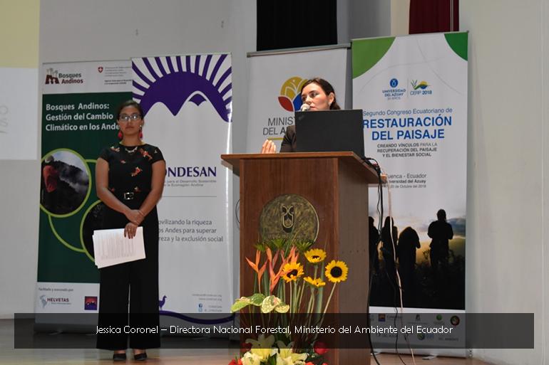 El Ministerio del Ambiente del Ecuador plantea un nuevo modelo de gestión para el Plan de Restauración Nacional 2018 – 2030