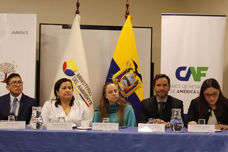 El Proyecto de Adaptación a los Impactos del Cambio Climático en Recursos Hídricos en los Andes fue presentado en Ecuador