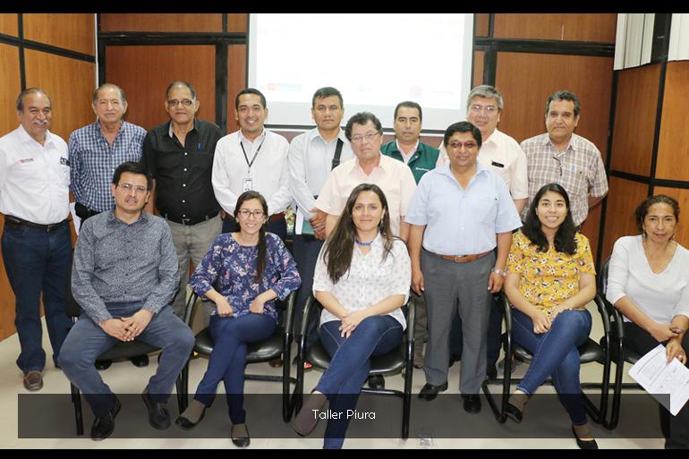 Proyecto Adaptación a los Impactos del Cambio Climático en Recursos Hídricos en los Andes (AICCA) realiza talleres de presentación para funcionarios de las regiones de Ancash y Piura