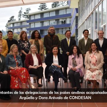 Ecuador fue anfitrión de la Reunión Anual del Consejo de países miembros de la Iniciativa Andina de Montañas