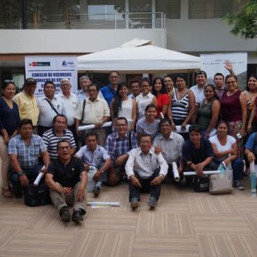 Red de Comunicadores del Consejo de Recursos Hídricos de la Cuenca Chira Piura aprueba Plan de Trabajo 2019