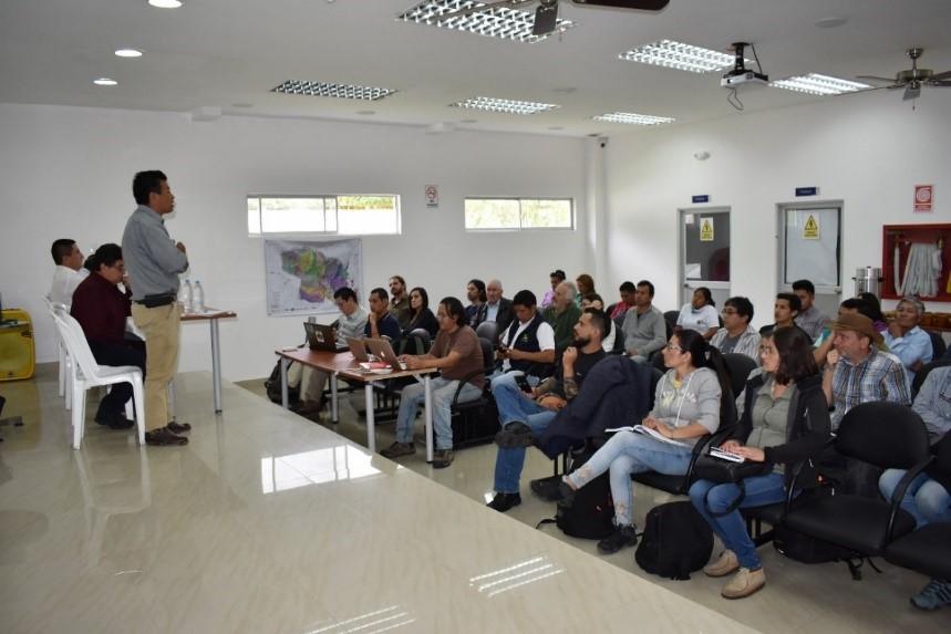 Se presentan localmente los resultados de la elaboración del Plan Especial de la Mancomunidad del Chocó Andino