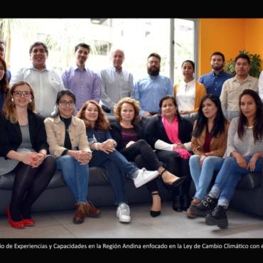 Países Andinos intercambian experiencias sobre legislación relacionada al Cambio Climático con enfoque en restauración forestal