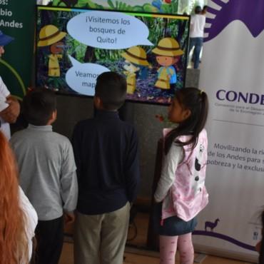 Los Bosques Andinos de Quito son protagonistas en la Primera Feria Escénica Guaguas por el Ambiente