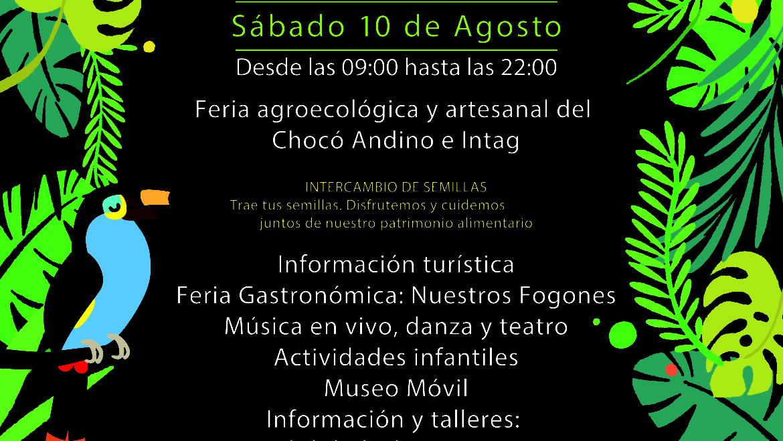 Festival del Chocó Andino – Pacto 2019