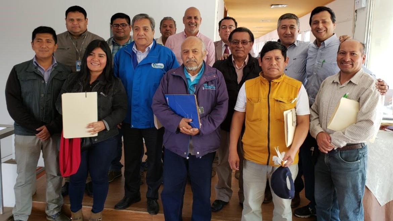 MINAM promueve inversión en infraestructura natural en actores de la cuenca integrada del río Ica