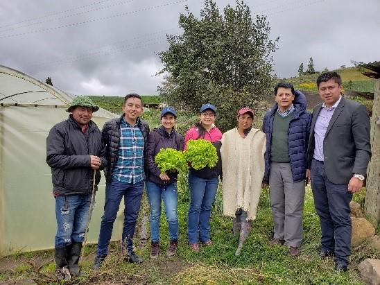 Proyecto AICCA y funcionarios del IDEAM socializan programa de fortalecimiento de la Red Hidrometeorológica en la cuenca del Lago de Tota