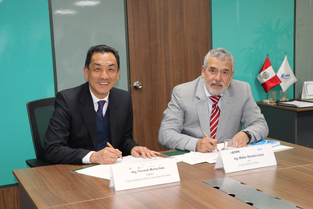 Autoridad Nacional del Agua reafirma compromiso con la protección de la Infraestructura Natural mediante firma de importante convenio de cooperación interinstitucional