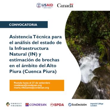 Convocatoria: Asistencia Técnica – Proyecto INSH Perú