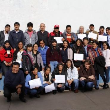 Comunicadores rurales, periodistas y líderes de opinión del Valle Sagrado de Cusco se especializan en infraestructura natural y gestión de recursos hídricos