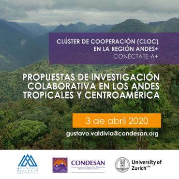 De la ciencia de la sostenibilidad a la gobernanza ambiental: Programa de pequeñas becas Conéctate-A+
