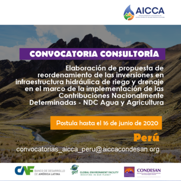 Convocatoria AICCA Perú