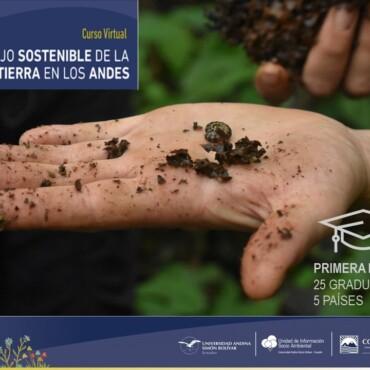Finaliza con éxito la primera edición del curso avanzado virtual de MST en los Andes