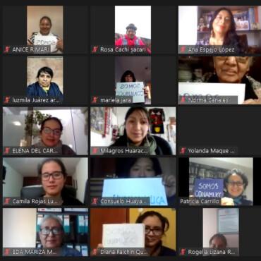 Perú: Comité Nacional de Mujeres y Cambio Climático – CONAMUCC se instaló hoy