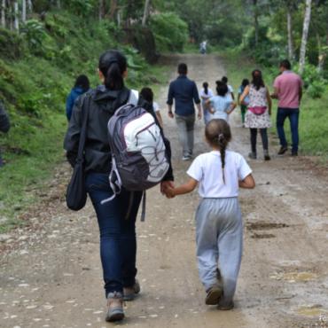Doscientos profesores del Chocó Andino se capacitan sobre los procesos de sostenibilidad territoriales