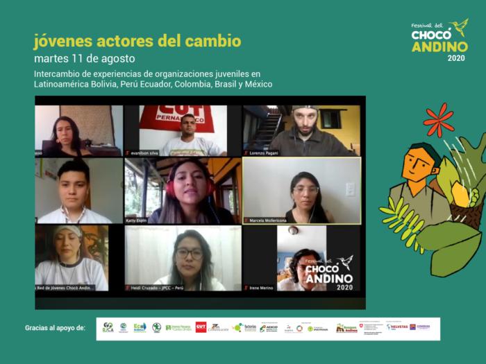 Jóvenes actores del cambio: Resumen del intercambio de jóvenes en el marco de la tercera edición del Festival del Chocó Andino