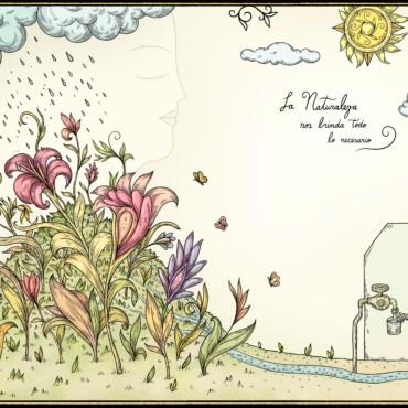 """""""El agua vive en los ecosistemas"""" Una apuesta artística a favor del cuidado de las fuentes naturales de agua"""