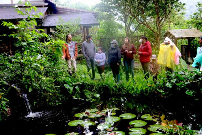Fortaleciendo los bioemprendimientos de la Red de Jóvenes del Chocó Andino