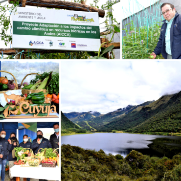Cuyuja y Papallacta se benefician de acciones de adaptación al cambio climático