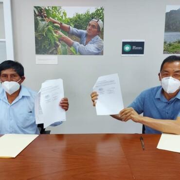 Convenio busca medir beneficios hidrológicos en proyectos de infraestructura natural en San Andrés de Tupicocha