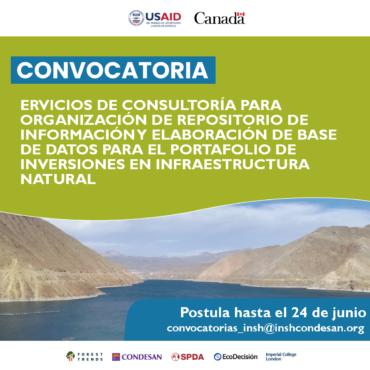 Convocatoria INSH Perú – Consultoría repositorio de información
