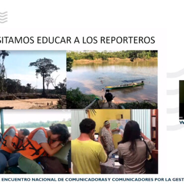 Voces por el Agua 2021: Revisa las charlas magistrales sobre gestión hídrica para comunicadores de Perú
