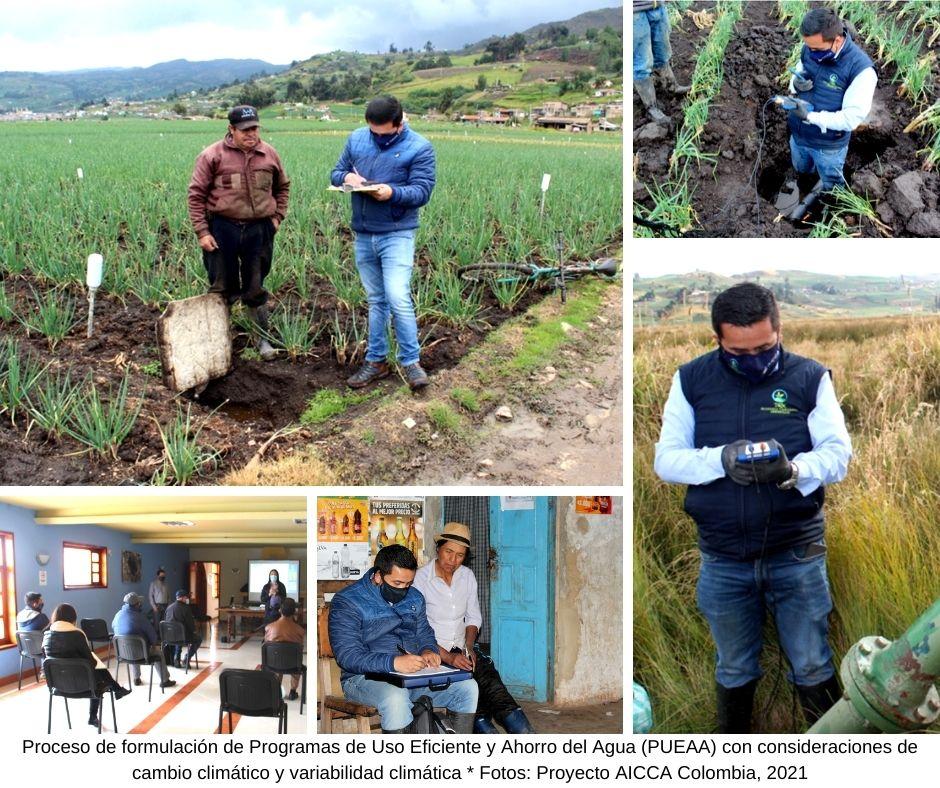 Optimizando el uso del agua a través de programas integrales en la cuenca del lago de Tota