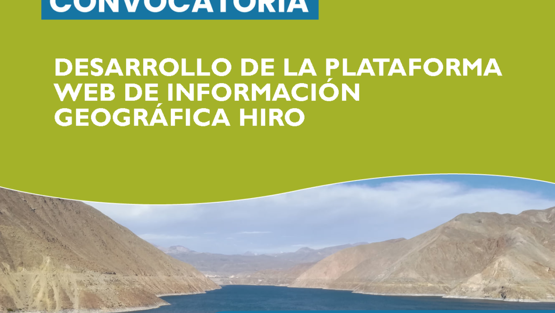 Convocatoria INSH PERÚ: DESARROLLO DE PLATAFORMA WEB
