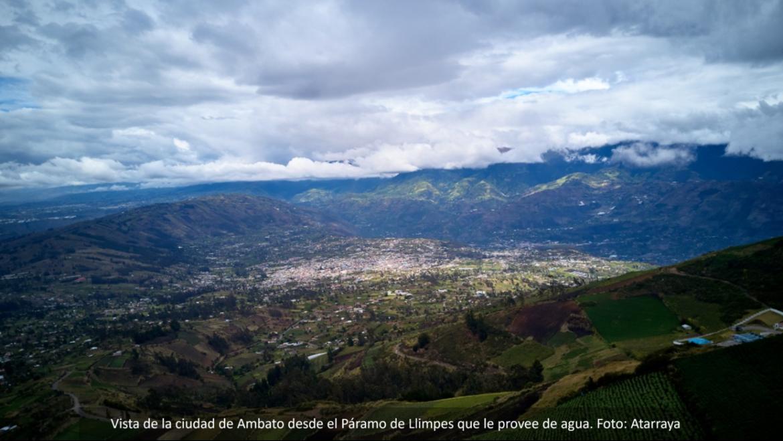 Conclusiones y recomendaciones preliminares de estudio regional sobre fondos de agua se presentan frente al Foro de Recursos Hídricos en Ecuador