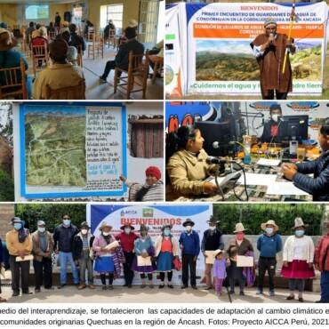 Organización y fortalecimiento de capacidades de las familias altoandinas en Áncash